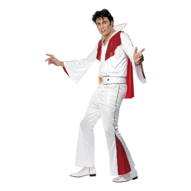 Elvis Maskeraddräkt - Medium