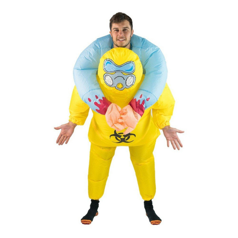 Uppblåsbar Biohazard Halloween Maskeraddräkt - One size