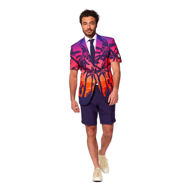 OppoSuits Suave Sunset Shorts Kostym - Strl 46