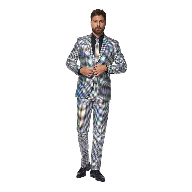 OppoSuits Discoballer Kostym - Strl 46