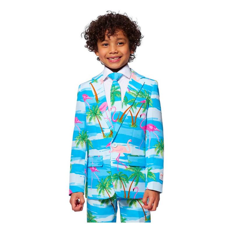 OppoSuits Boys Flaminguy Kostym - 92/98