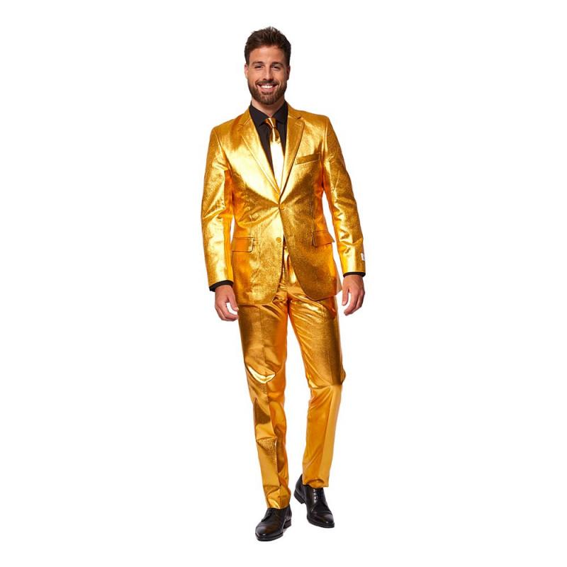 OppoSuits Groovy Gold Kostym - 46