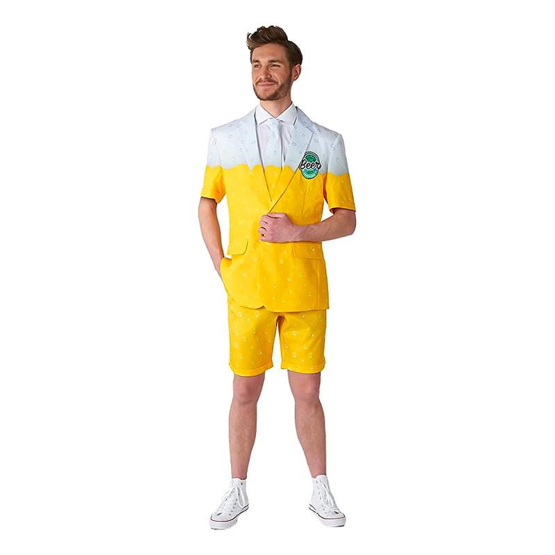 Suitmeister Premium Beer Yellow Summer Kostym - Small