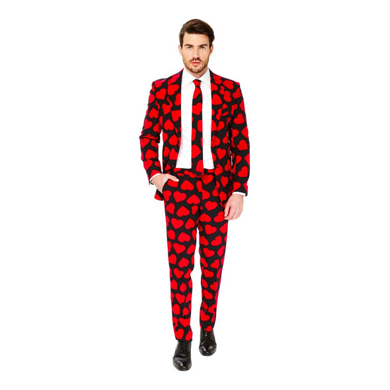 OppoSuits King of Hearts Kostym - 56
