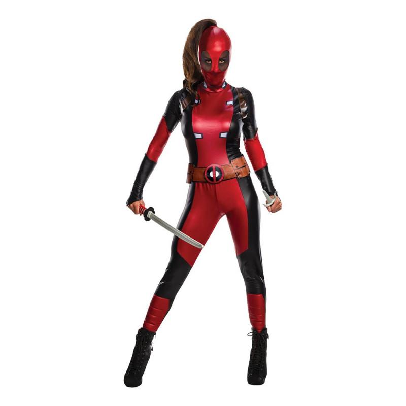 Secret Wishes Deadpool Maskeraddräkt - Medium