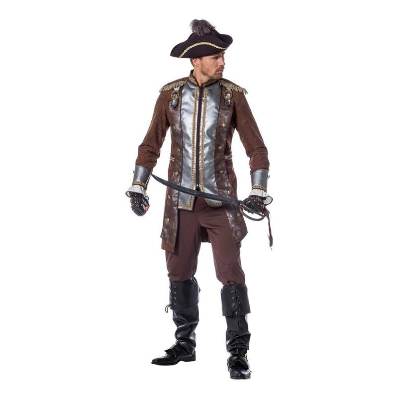 Pirat Deluxe Maskeraddräkt - Medium
