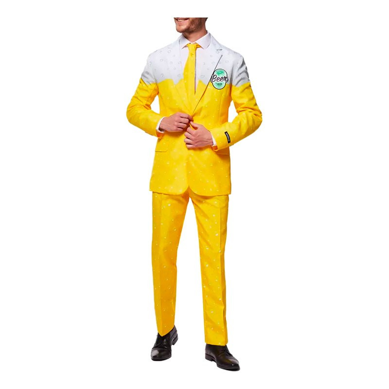 Suitmeister Beer Yellow Kostym - Small